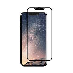 Недорогие Защитные пленки для iPhone X-Защитная плёнка для экрана Apple для iPhone X Закаленное стекло 1 ед. Защитная пленка на всё устройство 3D закругленные углы Уровень
