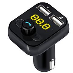 abordables Kit de Bluetooth/Manos Libres para Coche-Coche BC021 V3.1 Reproductor MP3 Transmisores FM Puerto USB Reproductor MP3