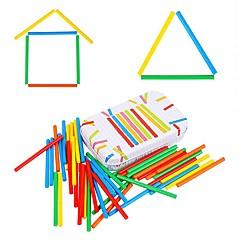 niños contaje sustracción de la barra montessori matemáticas enseñanza rompecabezas aritmética juguete jj7701-0524