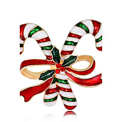 Férfi Női Melltűk Divat karácsonyi Rózsa arany bevonattal Ötvözet Ékszerek Kompatibilitás Karácsony Új Év