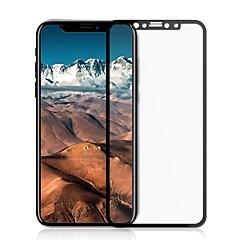 Недорогие Защитные пленки для iPhone X-Защитная плёнка для экрана для Apple iPhone X Закаленное стекло 1 ед. Защитная пленка на всё устройство HD / Уровень защиты 9H / 2.5D закругленные углы