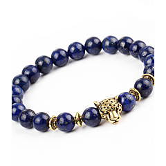 cheap Bracelets-Men's / Women's Onyx Strand Bracelet / Bracelet - Natural, Fashion Bracelet Dark Blue For Gift / Holiday