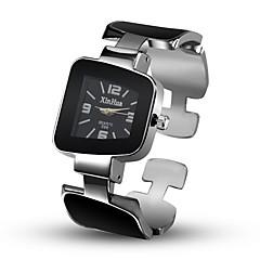 voordelige Armbandhorloges-Dames Kwarts Skeleton horloge Chinees Vrijetijdshorloge Legering Band Informeel Uniek creatief horloge Modieus Bangle Zwart Wit Roze