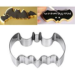halpa -Bakeware-työkalut Ruostumaton teräs Lapset / Leivonta Tool / 3D Leipä / Cookie / Piirakka Cartoon muotoinen / Animal cookie Työkalut 1kpl