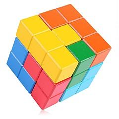 Kit de Bricolaje Bloques de Construcción Cubos Mágicos Juguete Educativo Puzzle Juguetes Rectangular Cuadrado Unisex 1 Piezas