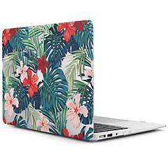"""MacBook Etui for MacBook Air 13-tommer MacBook Air 11-tommer MacBook Pro 13"""" med Retina display Træ Blomst TPU Materiale"""