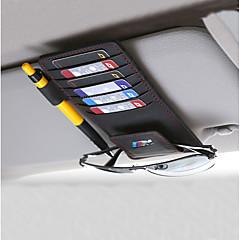 Недорогие Органайзеры для транспортных средств-Органайзеры для авто Солнцезащитный козырек Кожа Назначение BMW Все года 320 / 525