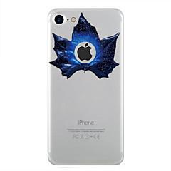 Назначение iPhone 7 iPhone 7 Plus Чехлы панели Прозрачный С узором Задняя крышка Кейс для дерево Мягкий Термопластик для Apple iPhone 7