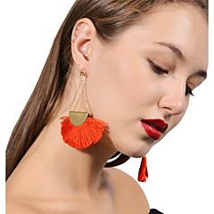 preiswerte Ohrringe-Damen Tropfen-Ohrringe - Schwarz / Braun / Rot Für Party / Alltag
