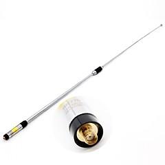 rh770 sma-weiblichen Dual-Band 144 / 430mhz hohe Verstärkung teleskopische Handfunkantenne für Kenwood Baofeng 365 tyt Walkie Talkie