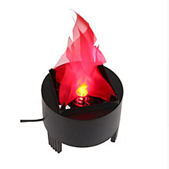 YouOKLight 3W AC100-240V LED Stage Effect Flame Lights Electronic Brazier Light EU / US Plug 1pcs