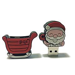 16gb Boże Narodzenie usb flash drive kreskówka twórczy santa claus Boże Narodzenie prezent usb 2.0