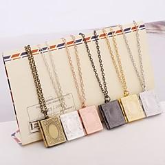 preiswerte Halsketten-Anhänger - versilbert Medaillon Anhänger Silber / Bronze / Champagner Für Alltagskleidung / Normal