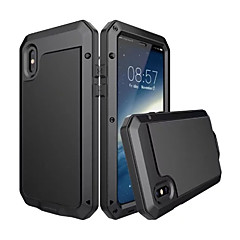 Na iPhone X iPhone 8 Plus Etui Pokrowce Woda / Dirt / Shock Proof Futerał Kılıf Zbroja Twarde Metal na Apple iPhone X iPhone 8 Plus