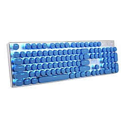 cheap Accessoires-Keyboard Keycap 104 Double Shot Injection Backlit Keycaps for all Gaming Mechanical Switch Keyboards with Key Puller