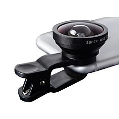 lentes de la cámara del smartphone del iyomo lente granangular 0.4x para el iphone del ipad huawei xiaomi samsung