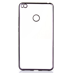 Недорогие Чехлы и кейсы для Xiaomi-Кейс для Назначение Xiaomi Покрытие Ультратонкий Кейс на заднюю панель Сплошной цвет Мягкий ТПУ для Xiaomi Mi Max 2