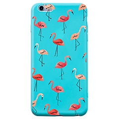 For iPhone 7 iPhone 7 Plus Case Cover Shockproof Pattern Back Cover Case Flamingo Animal Soft Silicone for Apple iPhone 7 Plus iPhone 7