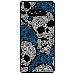 billige Galaxy Note 5 Etuier-Etui Til Note 8.0 Samsung Galaxy Note 8 Note 5 Mønster Bagcover Dødningehoveder Blødt TPU for Note 8 Note 5 Edge Note 5 Note 4 Note 3