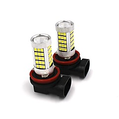 2PCS Car Original Fog Lamp Replacing Bulb 35W H4 H7 H8 H9 H11 9005 9006 Samsung LED Fog Light White/Red/Yellow/Blue Color Selective