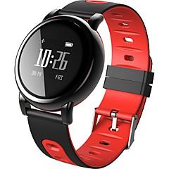 ههي جديد b8 الذكية الرياضة سوار الوقت الحقيقي معدل ضربات القلب غس سجل سجل ضغط الدم ip67 للماء الروبوت يوس
