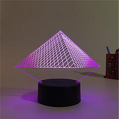 1SET ديكور لون التغير إضاءة الديكور الصمام ليلة الخفيفة أضواء USB-3W-بطارية USB