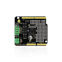 お買い得  マザーボード-keyestudio l298pシールド/ 2a arduino用高電流デュアルモータードライブモジュール