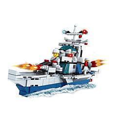 Bouwblokken Speeltjes Nieuwigheid Oorlogsschip Stuks Niet gespecificeerd Geschenk
