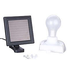 olcso Kültéri lámpa és gyertyatartók-1set 1 W LED projektorok Érzékelő Újratölthető Garázs/parkoló Hideg fehér Természetes fehér <5V