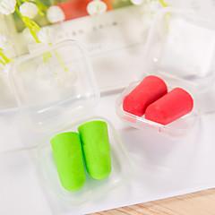 olcso -5 pár utazás lágy fül csatlakozó véletlenszerű színű műanyag doboz csomag