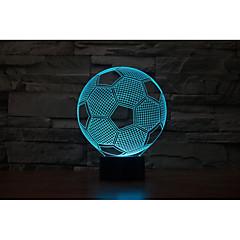 cheap LED Novelty Lights-1set 3D Nightlight USB Battery Color-Changing Decorative