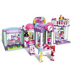 Bausteine Spielzeuge Architektur Schönheitssalon Architektur Urban Heimwerken Klassisch Neues Design Erwachsene Mädchen 277 Stücke
