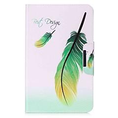 preiswerte Tablet-Hüllen-Hülle Für Samsung Galaxy Ganzkörper-Gehäuse / Tablet-Hüllen Feder Hart PU-Leder für Tab A 10.1 (2016)