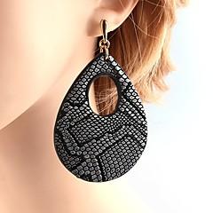 Damskie Kolczyki na sztyft Kolczyki wiszące Biżuteria Modny Osobiste Skórzany Miedź Kropla Biżuteria Na Casual