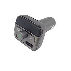Недорогие Bluetooth гарнитуры для авто-bt20 upgradearde bluetooth handsfree звонки fm передатчик музыкальный плеер поддержка tf / u диск двойной USB-зарядное устройство