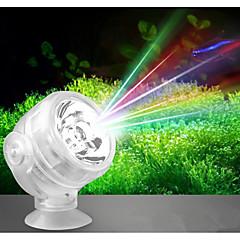 أحواض السمك ضوء LED أبيض تغيير أحمر أخضر أزرق زهري أصفر مصباح LED AC 220V