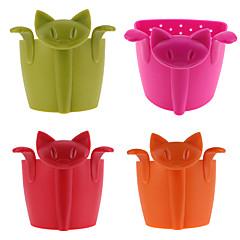ieftine -Silicon Ceai / Bucătărie Gadget creativ Pisica 1 buc Strecurătoare Ceai / Filtre