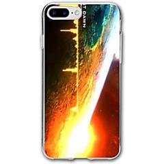 Кейс для Назначение iPhone X iPhone 8 С узором Задняя крышка Панк Мягкий TPU для iPhone X iPhone 8 Plus iPhone 8 iPhone 7 Plus iPhone 7