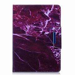 halpa Tablettikotelot-Etui Käyttötarkoitus Samsung Galaxy Tab 9.7 Suojakuori tabletti Kotelot Yksisarvinen Flamingo Marble Piirretty Kova PU-nahka varten