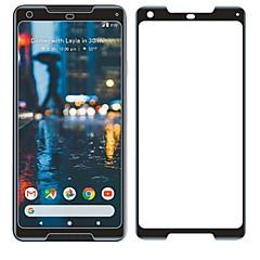 olcso Képernyő védők-Képernyővédő fólia Google mert Pixel 2 XL Edzett üveg 1 db Kijelzővédő fólia 9H erősség Karcolásvédő 3D gömbölyített szélek