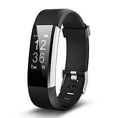 voordelige Slimme technologie-Smart Armband 115PLUS for iOS / Android Berichtenbediening Stappenteller / Afstandsbediening / Fitnesstracker / Slaaptracker / Wekker