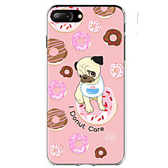 cheap iPhone Cases-Case For Apple iPhone X iPhone 8 iPhone 8 Plus Ultra-thin Pattern Back Cover Dog Food Soft TPU for iPhone X iPhone 8 Plus iPhone 8 iPhone