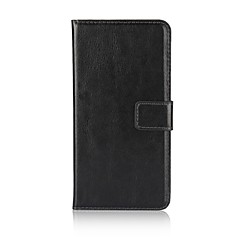 Case For Huawei P10 Lite Card Holder Wallet with Stand Flip Full Body Solid Color Hard PU Leather for Huawei P10 Lite