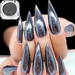 0,5 g / pullo musta peili vaikutus koriste 3d nail art glitter