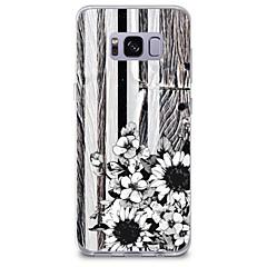 voordelige Galaxy S6 Edge Hoesjes / covers-hoesje Voor Samsung Galaxy Patroon Achterkant Houtnerf Bloem Zacht TPU voor S8 Plus S8 S7 edge S7 S6 edge plus S6 edge S6 S6 Active S5