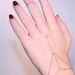 preiswerte Armbänder-Damen Ketten- & Glieder-Armbänder Ring-Armbänder - Bikini Armbänder Gold / Silber Für Party Alltag
