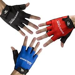 Rękawiczki sportowe Rękawiczki rowerowe Oddychający Bez palców Lycra Kolarstwo górskie Kolarstwie szosowym Kolarstwo / Rower Męskie