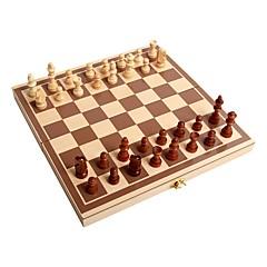お買い得  子供のパズル-チェス 教育 ウッド 家族