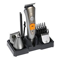 kemei km-580a rakapparat rakapparat 7 i 1 rakapparat maskin näsa öra hår trimmer elektrisk klipper uppladdningsbara afeitadora män