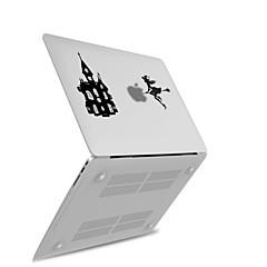 "economico Accessori per MacBook-MacBook Custodia per Con logo Apple Transparente Fantasia ""Cartone 3D"" PVC Per Nuovo MacBook Pro 15'' Per Nuovo MacBook Pro 13'' MacBook"